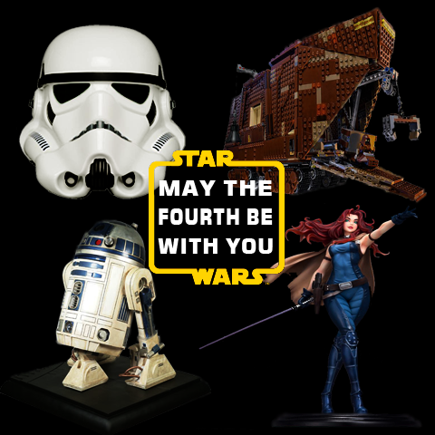May the Fourth Be With You - Celebrate Star Wars Day Today!