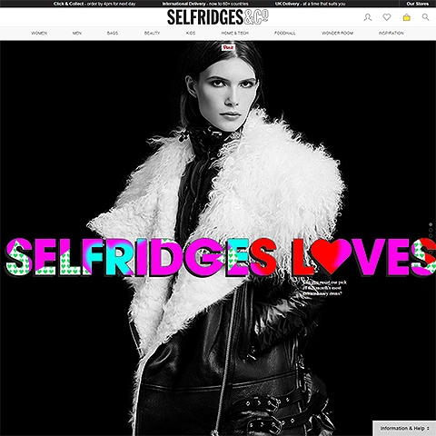 Is Selfridges' £40 million investment a reasonable amount for a digital retail business?