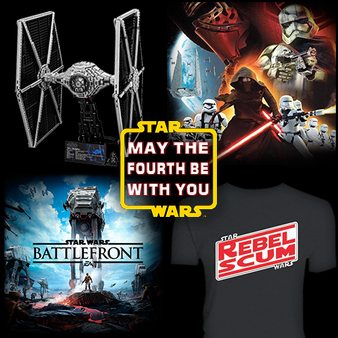 Celebrate Star Wars Day - May the Fourth Be With You!