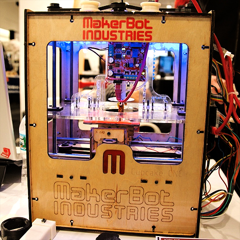 The entry level 3D Printer - CupCake CDC from MakerBot