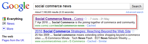 Social Commerce News on Comrz