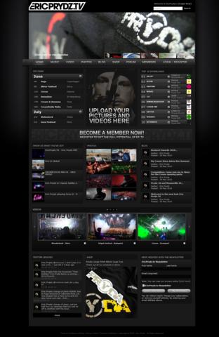 Eric Prydz Homepage