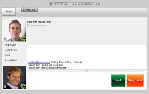 Affino Messenger v2 Pre-Alpha