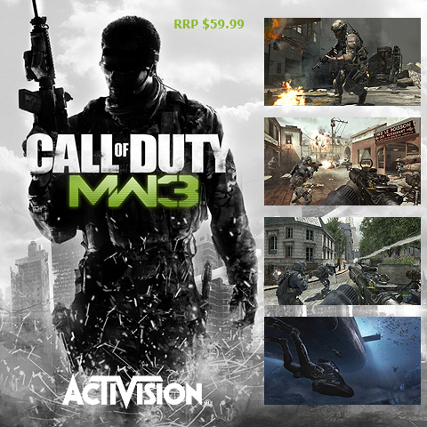 Call of Duty MW3 is biggest Entertainment Launch of all time