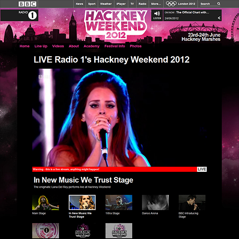 BBC's Hackney Weekend Coverage is Peerless, could do a lot more with Social Media though