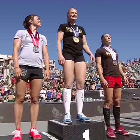 Annie Gets the Gold Again - Annie Thorisdottir is 2012 CrossFit Champion
