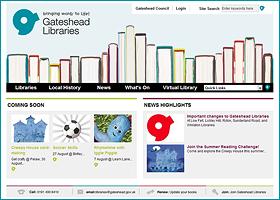 Gateshead Libraries | UK