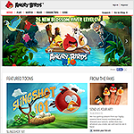 New Angry Birds Website Live on Affino
