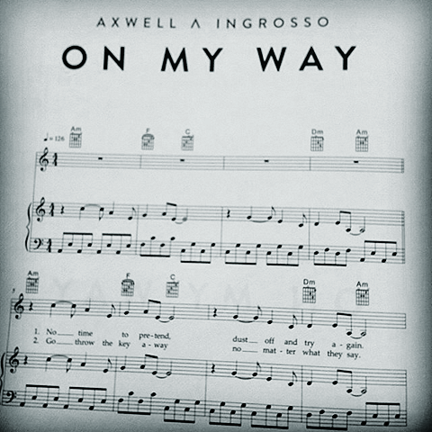 Axwell Λ Ingrosso pioneer social participation via sheet music