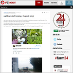 Farmers Guardian Innovates with 24 Hours in Farming Live Blog