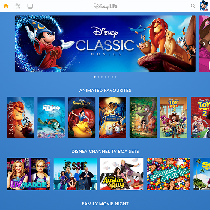 DisneyLife at launch is a pretty decent stab at an all-round Disney streaming service