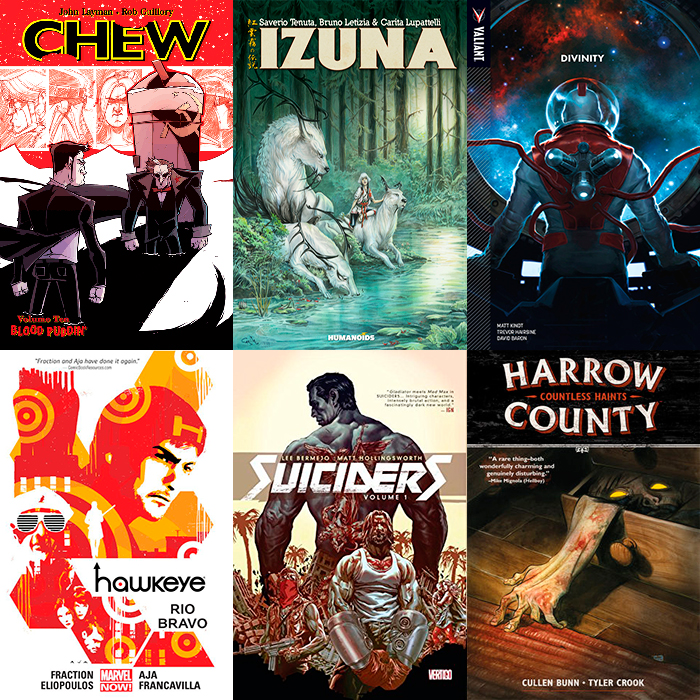 2015 Best Graphic Novels and Sequential Art