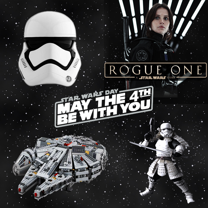 May the Fourth be with You - Happy Star Wars Day!