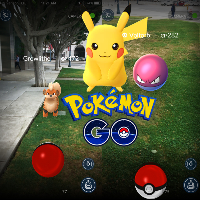 Pokémon Go is first to properly harness the potential of Augmented Reality