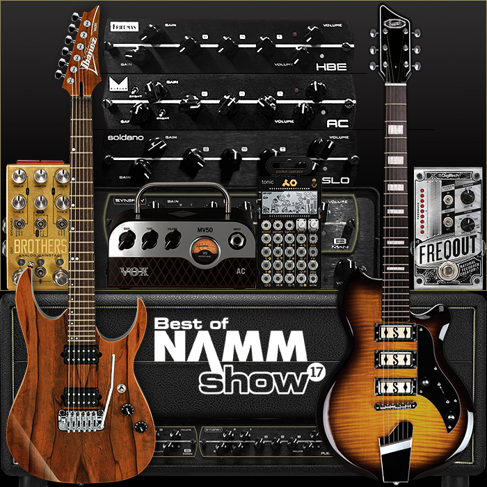 NAMM 2017 New Product Highlights