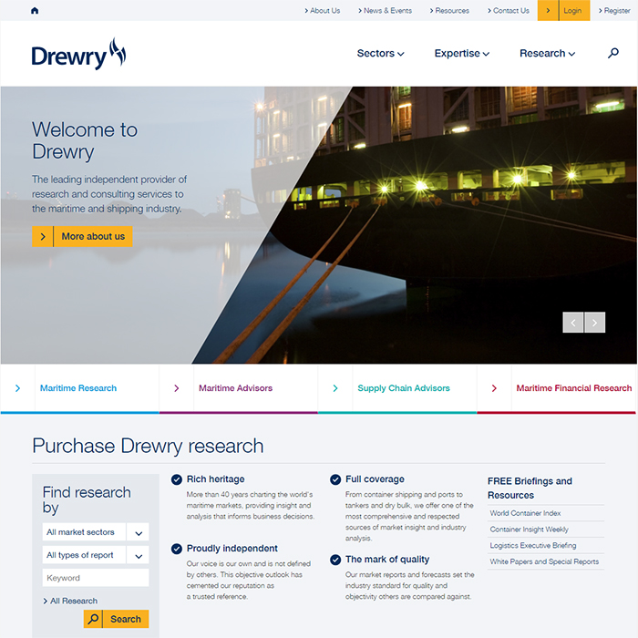 Drewry Transforms Global Subscription Sales Business with Affino