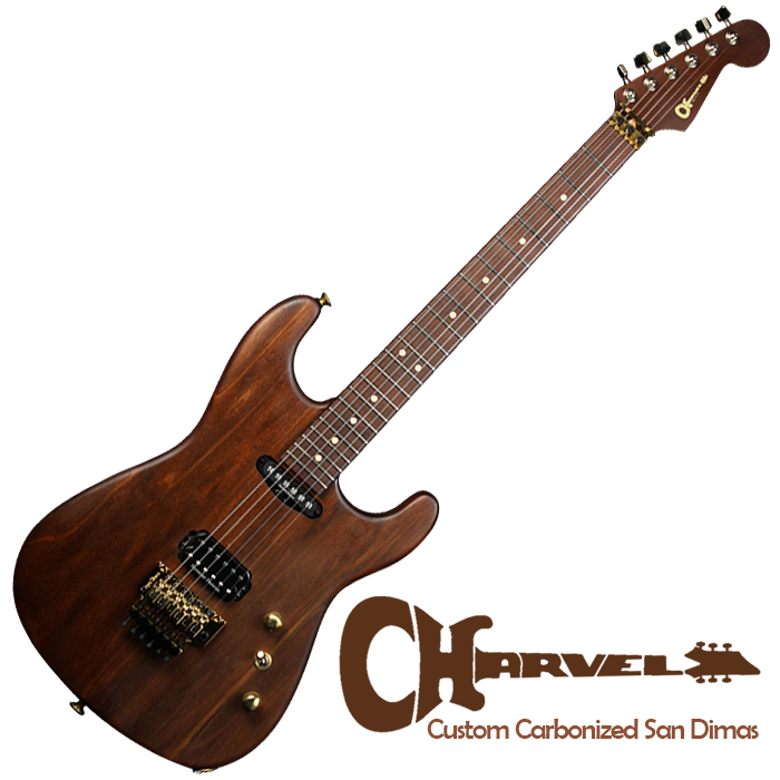 Charvel Custom Carbonized San Dimas