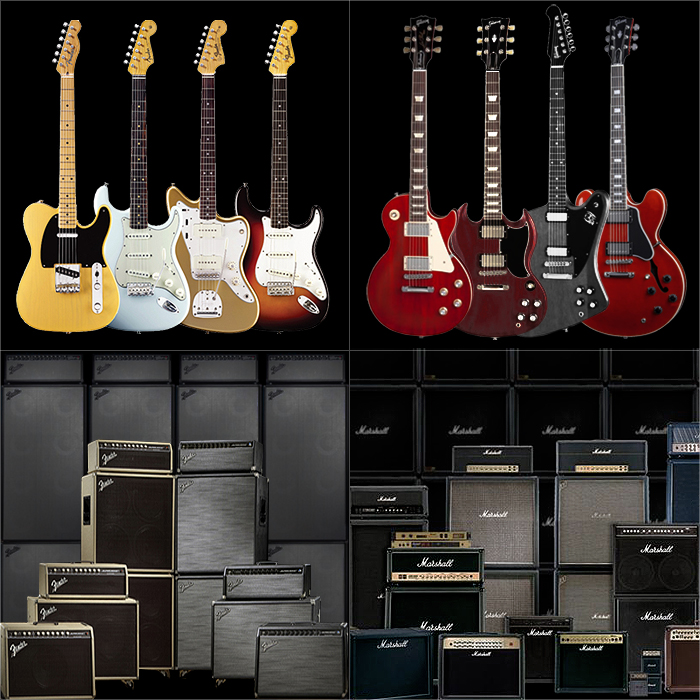 The Still Omnipresent Twin Duopoly Dominates the Electric Guitar Marketplace