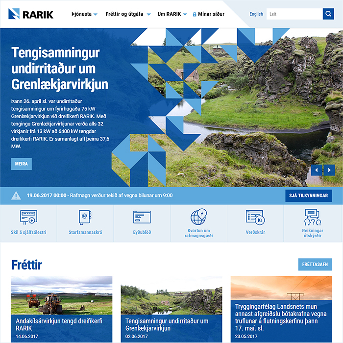 RARIK Boosts Engagement with sharper, more interactive and more informatic site