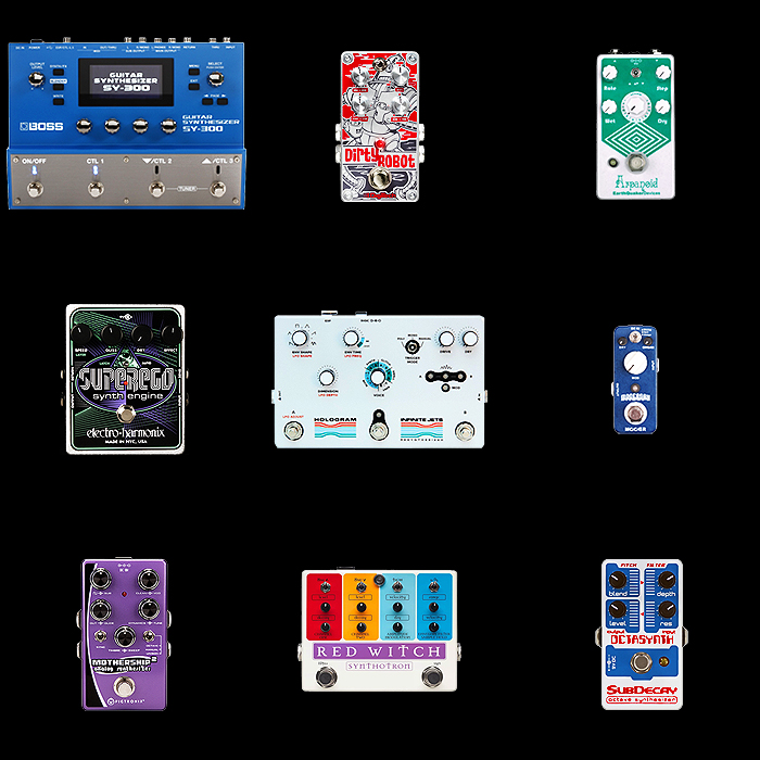 9 of the Best Guitar Synth Pedals for Your Consideration