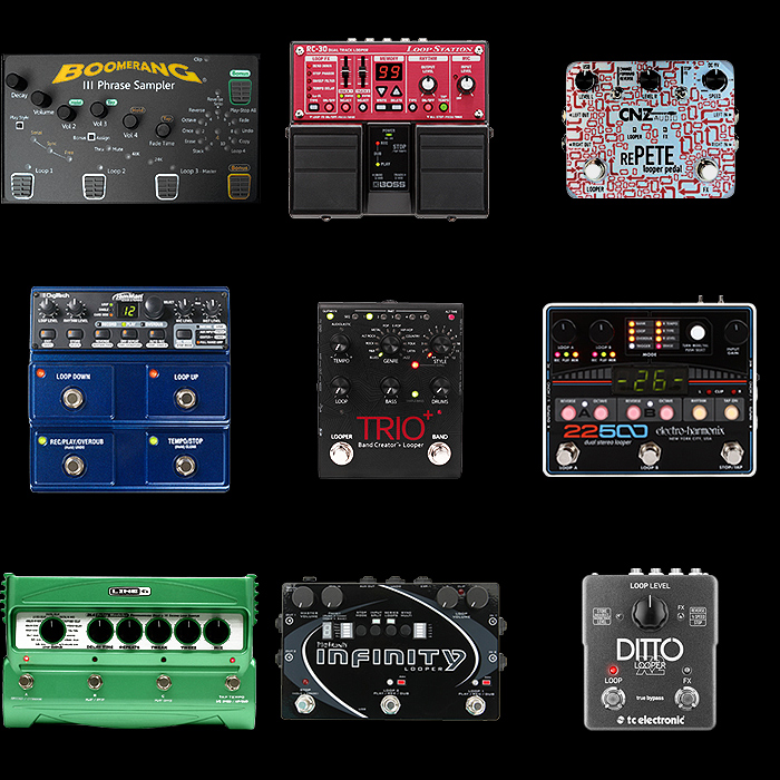 9 of the Best Stereo Looper Pedals for Your Consideration