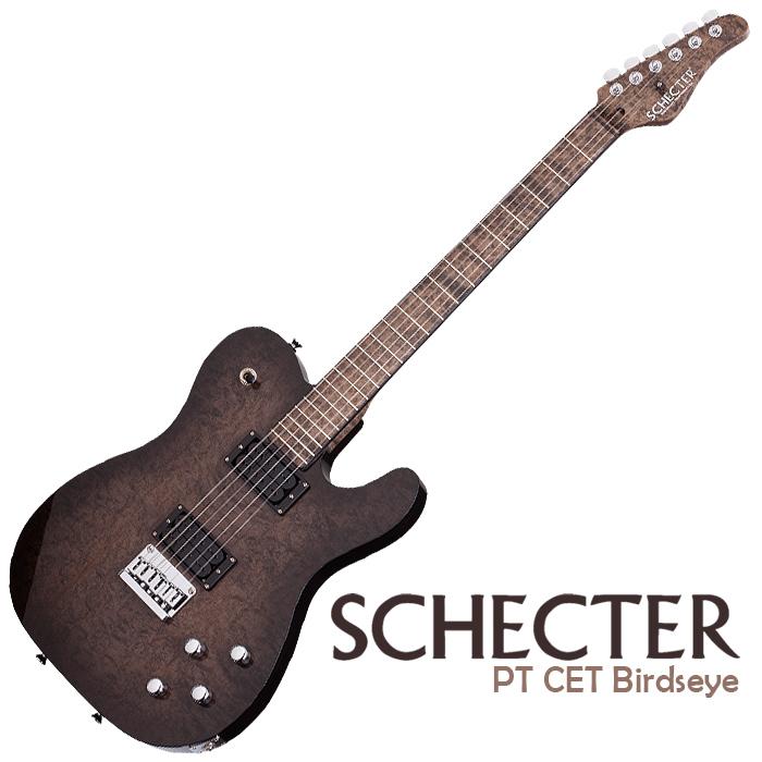 Schecter PT CET Birdseye Maple - $5,499