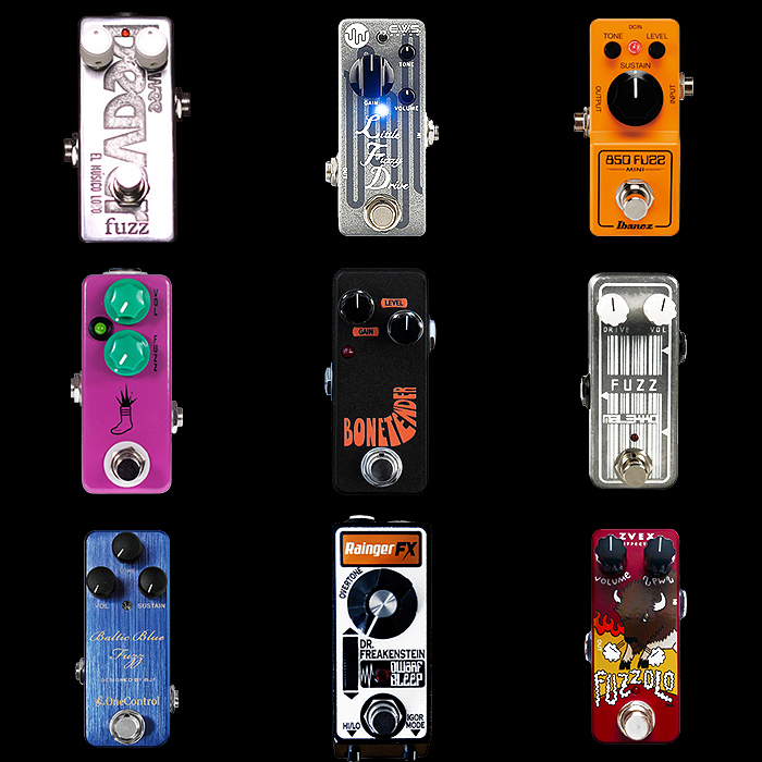 9 of the Best Mini Fuzz Pedals for Your Consideration
