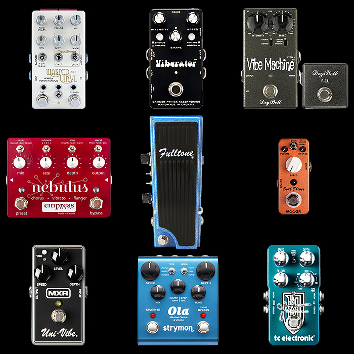 9 of the Best Chorus+Vibrato Guitar Pedals for Your Consideration