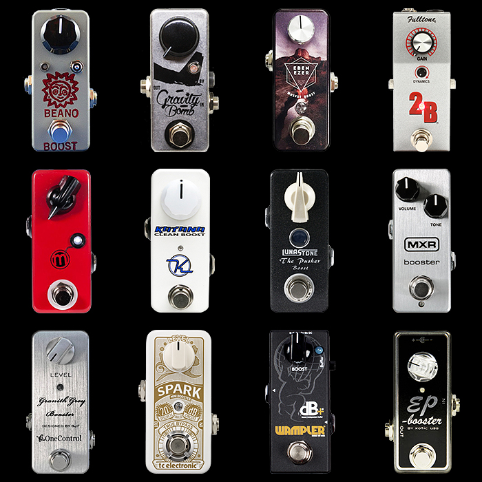 12 of the Best Mini Boost Pedals for Your Consideration