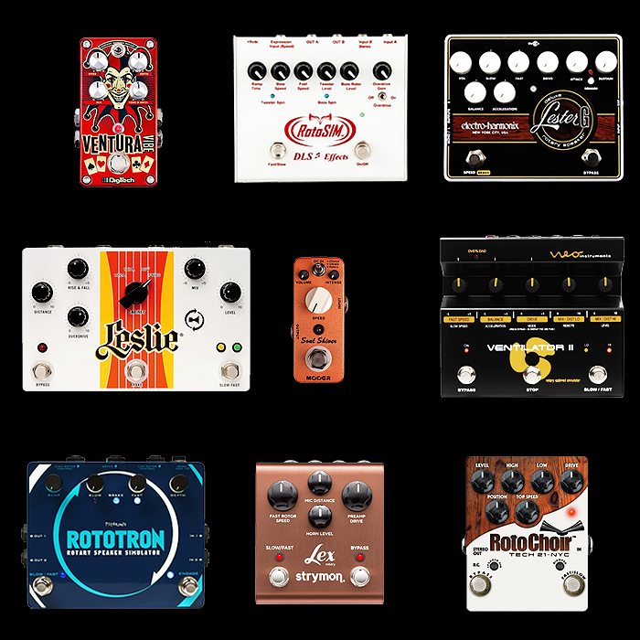 9 of the Best Rotary Pedals for Your Consideration