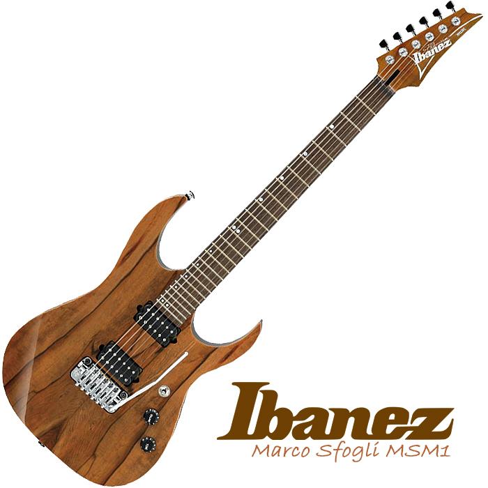 Ibanez MSM1 Marco Sfogli - core - £1,059