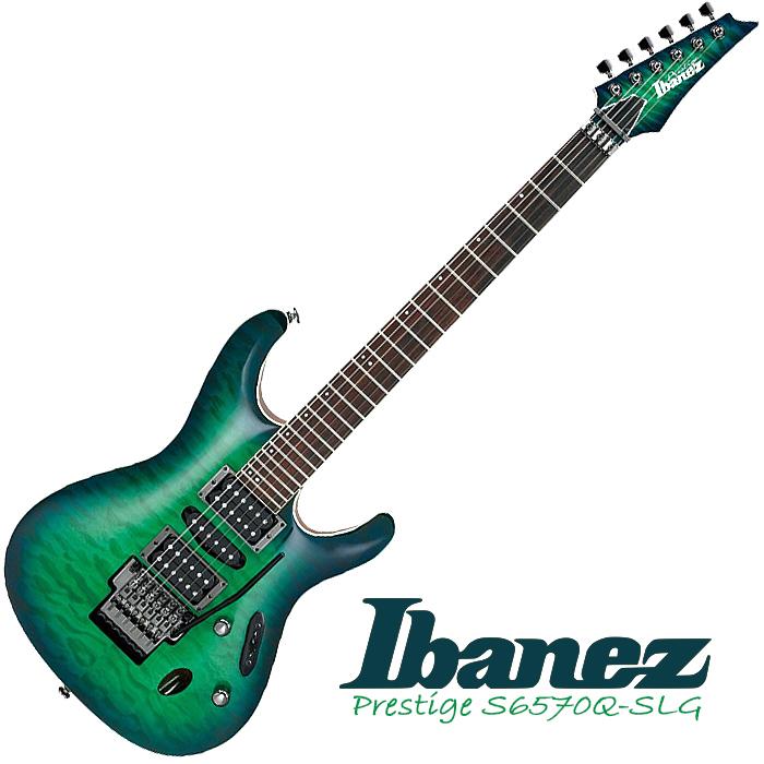 Ibanez S6570Q SLG - core - £1,829
