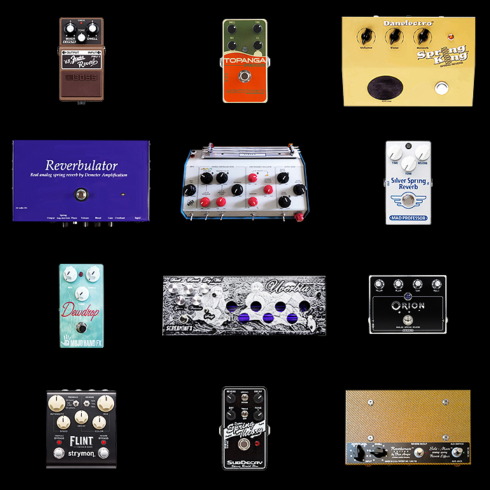 12 of the Best Spring Reverb Pedals for Your Consideration