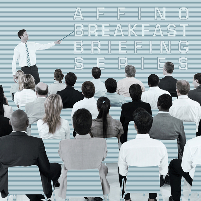 Affino Breakfast Briefing 28th September - Affino 8, GDPR and Drewry Case Study