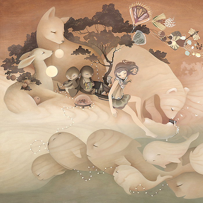 Pop-Surrealist painter Amy Sol is Friday's Inspiration
