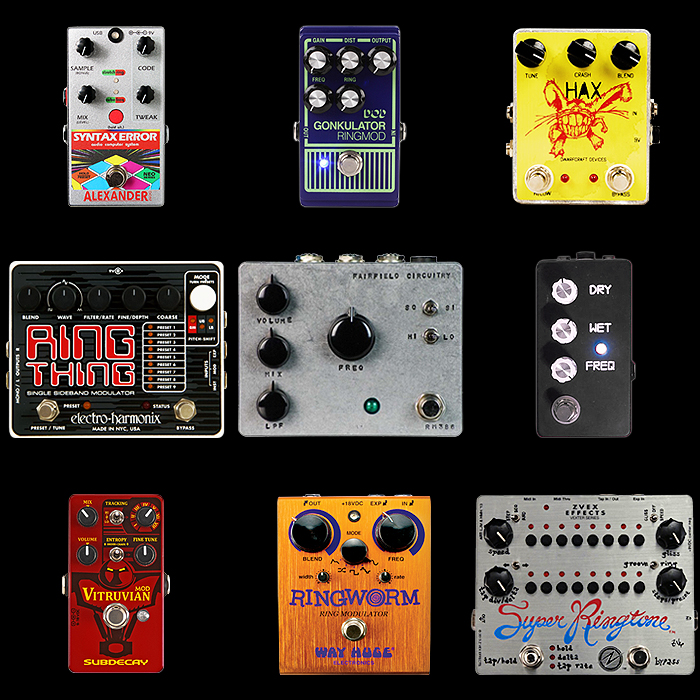 9 of the Best Ring Modulation Pedals for Your Consideration