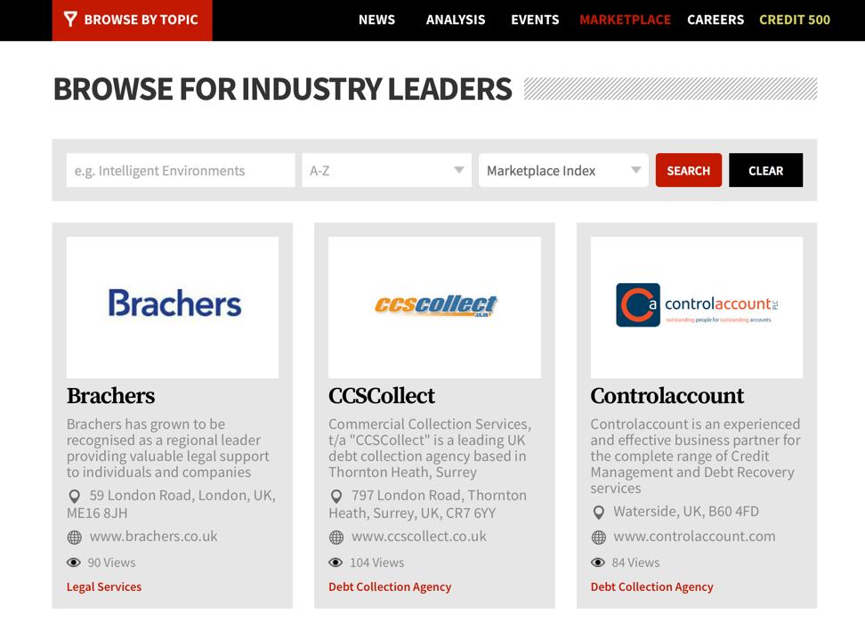 Online Diretory Listing