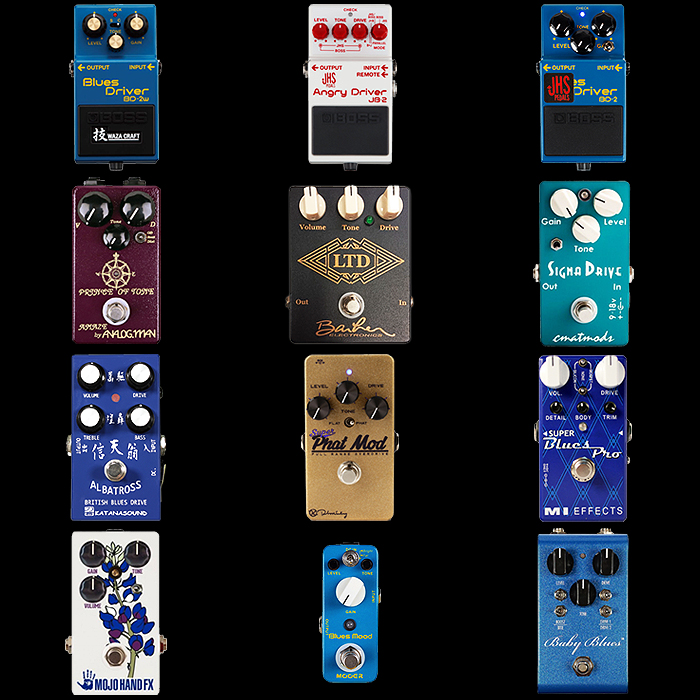 pedals blues driver guitar pedal bluesbreaker effects ownership overdrive
