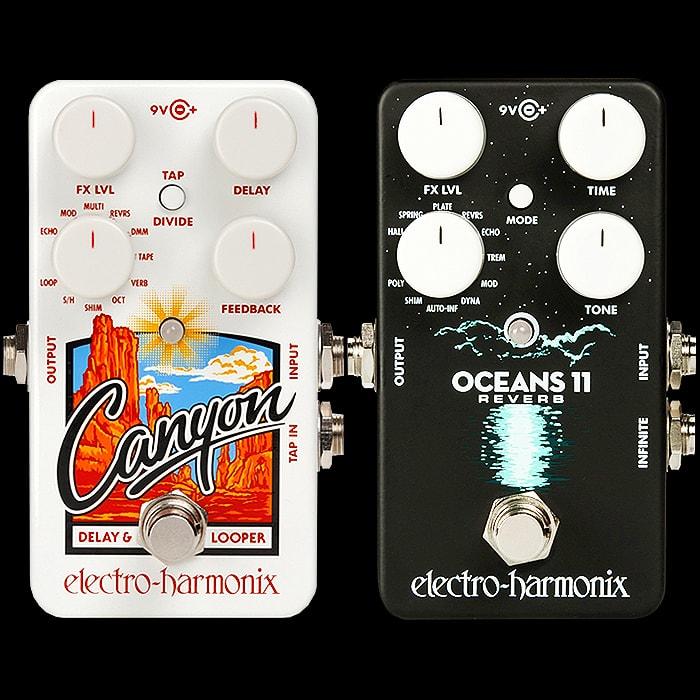 canyon delay  Guitar Pedal X - GPX Blog - Electro-Harmonix releases Oceans 11 ...