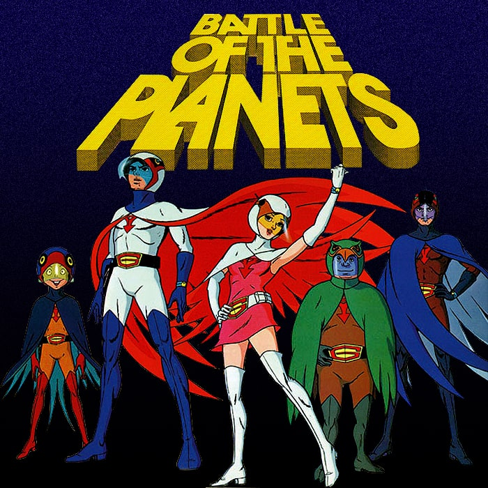 1978 : Battle of the Planets / Gatchaman / G-Force