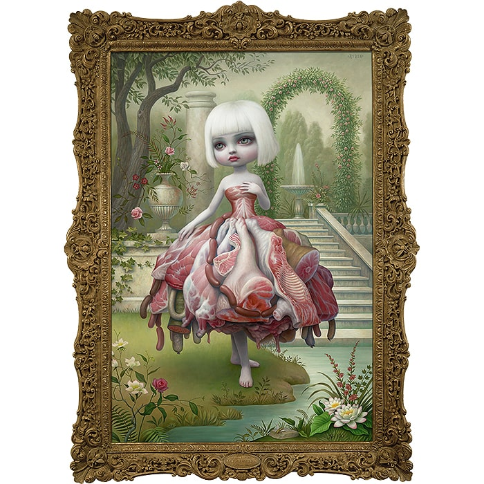 "2009 : Mark Ryden : ""Incarnation"" Oil Painting"