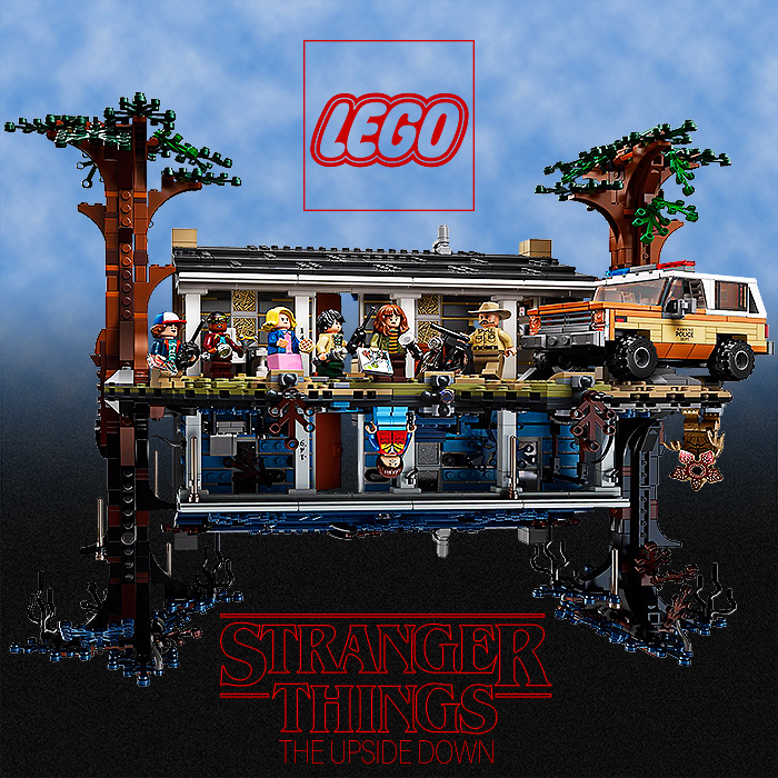 LEGO yet again underlines its credentials as the King of Licensing with superb new Stranger Things The Upside Down Set