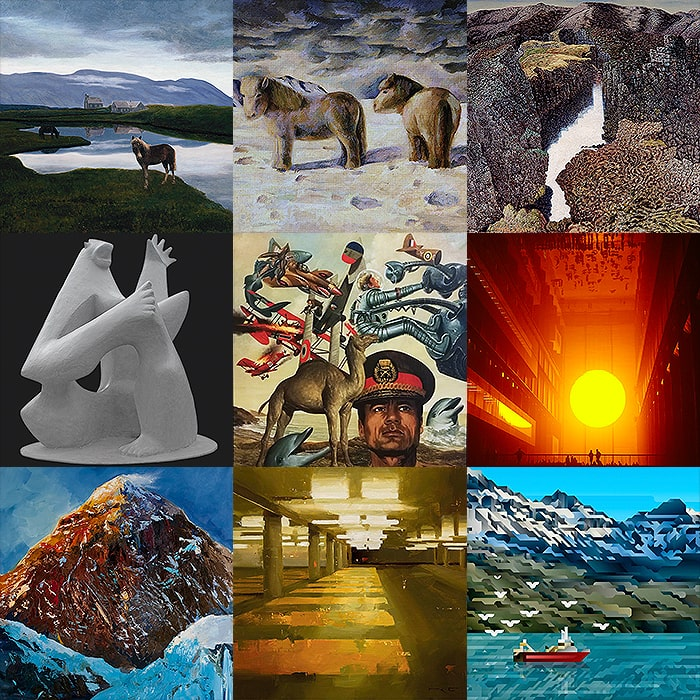 120 Years of Icelandic Art - 9 Favourite Artists and Artworks