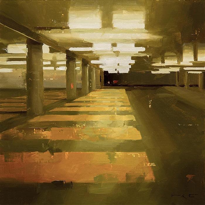 Thorgrimur Andri Einarsson (Þorgrímur) (1980 > ) - Harpa (2017) (Oil on Canvas)