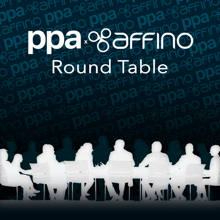 Affino-led Roundtable Discussion on Actionable Intelligence at the PPA Independent Publisher Conference & Awards