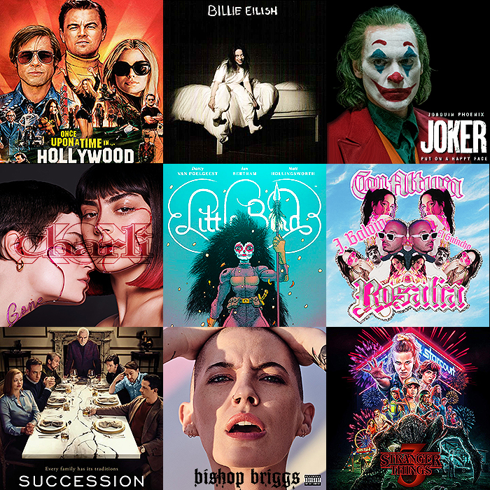 Best of Entertainment for 2019 - Albums, Songs, Movies, TV, and Graphic Novels