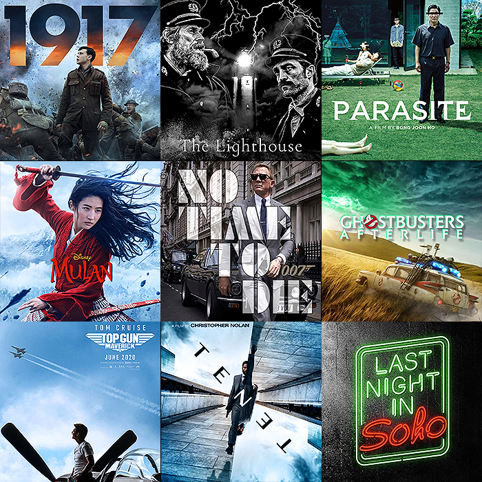 Film Release Highlights for 2020