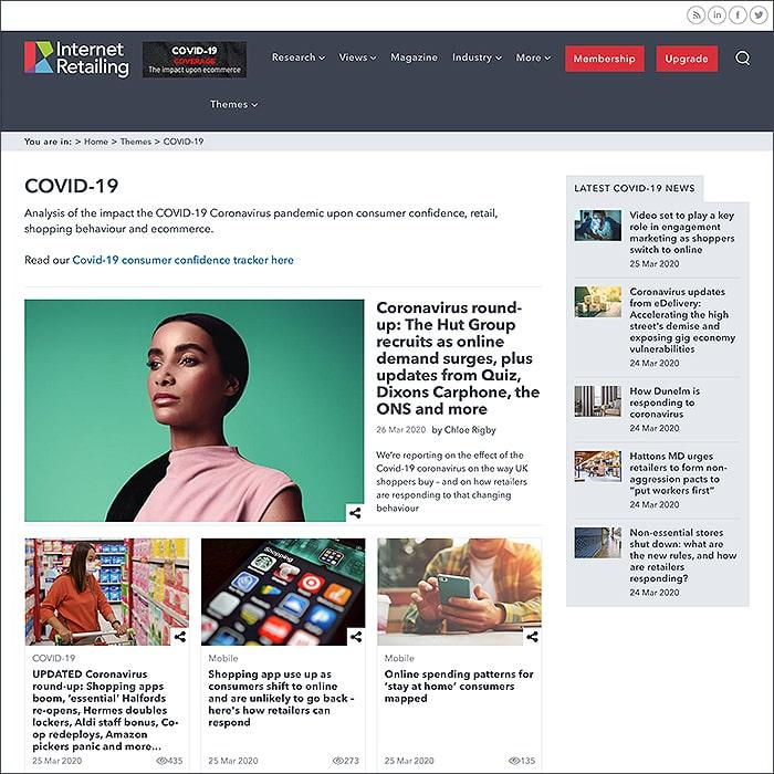 Internet Retailing Covid-19 Hub