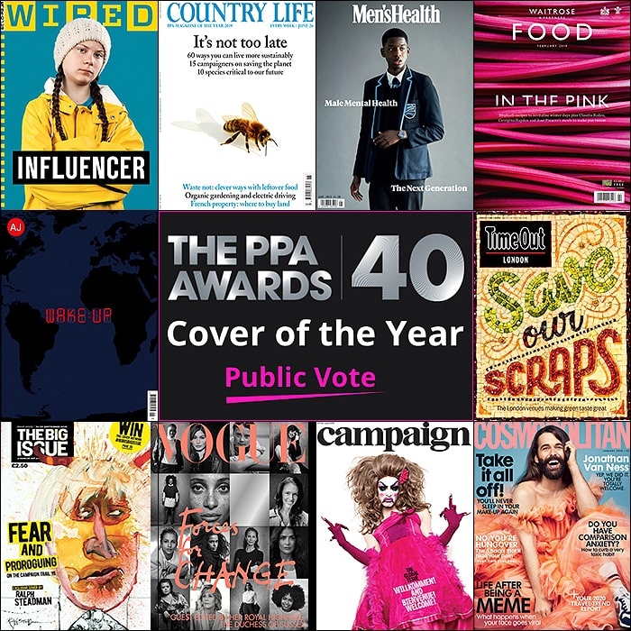 Public Vote for the Cover of the Year