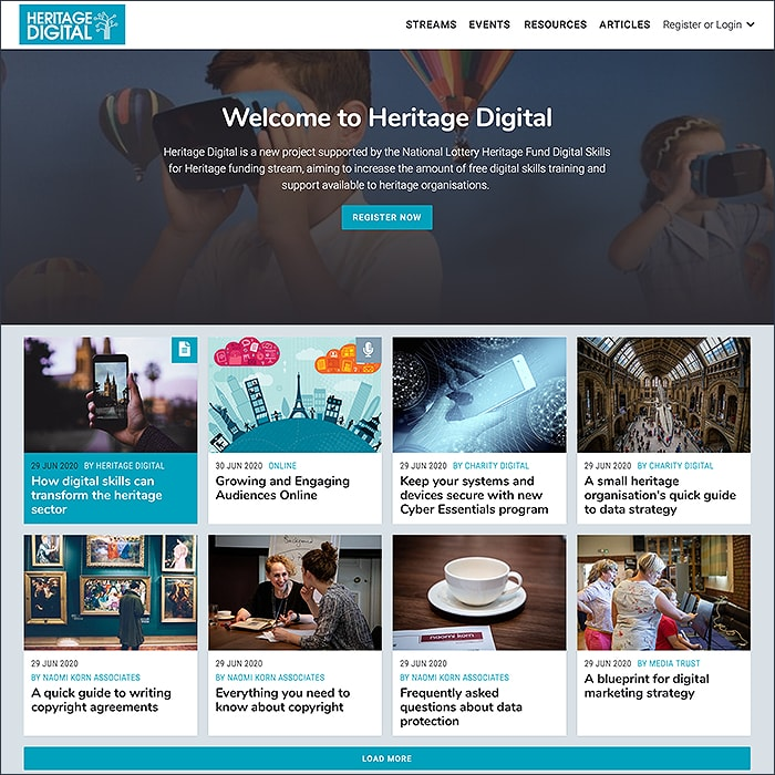 Charity Digital and Consortium Launch Commendable and Timely Heritage Digital Initiative for UK Heritage Organisations